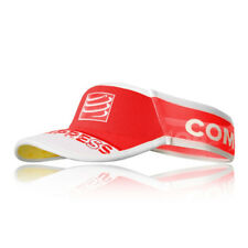 Compressport Unisex Ultralight Visor Red Sports Running Triathlon Breathable