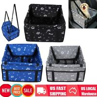 Pet Booster Seat,Deluxe Pet Dog Booster Car Seat with Clip-On Safety Leash