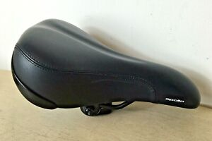 Apollo Bicycle Seat Cycle Saddle Bike Black Padded Excellent Condition