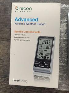 Oregon Scientific BAR208HGX Advanced Wireless Weather Station W/Outside Sensor