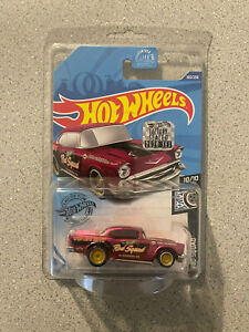 Hot Wheels 2020 SUPER Treasure Hunt 57 Chevy Factory Sealed Set NEW REAL RIDERS