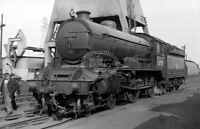 PHOTO BR British Railways Steam Locomotive Class D49 62729 at Thornton in 1959