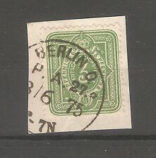 Deutsches Reich timbres 1875 3 pfennigs Mi. Nº 31 k1 Berlin PA 27 1875
