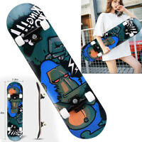 Orangutan Skateboard Top Stained BLACK 31.5in Skateboards, Ready To Ride New