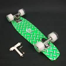"""Skateboard Maple timber 22""""x 6""""  Neon Green Deck + FREE T Tool CLEARANCE SALE"""