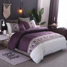 Floral Duvet/Doona/Quilt Covers Set Double Queen King Size Bedding Pillow Cases