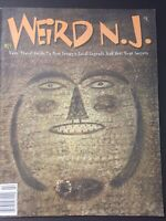 Weird NJ Magazine Issue 19 Jail Ghosts Cemetery Safari Jungle Enclosure UFO