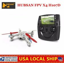 HUBSAN X4 H107D Quadcopter 5.8G FPV RC Drone LCD  Transmitter Camera  toy kids