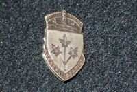 WW2 Canadian Military Forces General Service Badge Pin 'Sterling' Numbered RARE