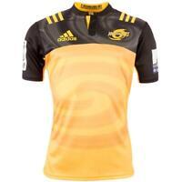 Hurricanes New Zealand 2016 Alternative Rugby Shirt Jersey Black Yellow XL new
