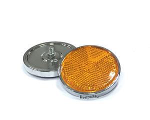Pair Reflectors , Turn Signal Indicator for Suzuki GT750 GT550 GT380 Orange