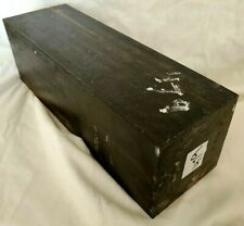 Exact Piece Gabon Ebony Hardwood Lumber 4x4x12 Turntable Parts Guitar Headstock