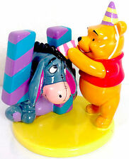 Winnie the Pooh & Eeyore 4 Birthday Cake Topper Disney Figurine