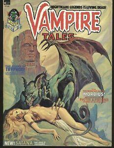 Vampire Tales # 2 - Intro Satana , Steranko reprint Fine/VF Cond.