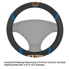 Fan Mats NBA New York Knicks Car Truck Suv Van Boat Steering Wheel Cover