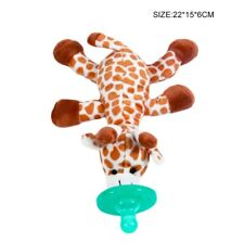 Wubbanub Style Soother pacifier toy GIRAFFE UK Seller FREE POSTAGE !!!!!!!