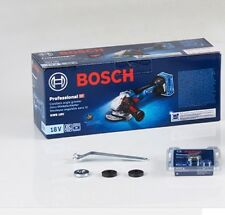 "New Bosch GWS18V-100SC Professional Cordless Angle Grinder ""Body Only"" -EMS SHIP"