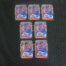 1987 Donruss #36 Greg Maddux Rookie Lot of 7 Braves MINT