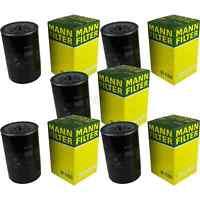 5x MANN-FILTER Ölfilter Oelfilter W 1160 Oil Filter