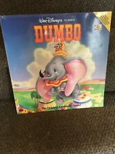 Nip Disney Laserdisc Dumbo Nip Sealed