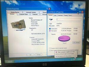 HP Compaq NX6325 AMD Sempron 3500+ CPU 1.7GHz 896MB Ram 80GB HDD Laptop Win XP
