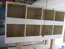 casier a pigeon en bois 8 compartiment avec pied