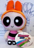 "New THE POWERPUFF GIRLS Blossom PLUSH TOY FACTORY Doll Cartoon Network Orange 9"""