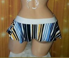 Exotic Dancewear, Pole/Rave/GoGo Adult Entertainer Wear Ruffle Skirt Only S/M