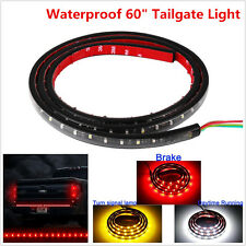 LED Tailgate Light Bar Truck Tail-Gate Turn Signal Red Brake Amber Reverse White