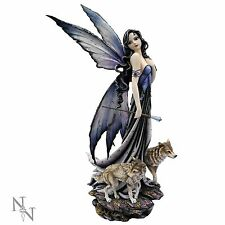 Fairy Lina and Wolves - Large 60cm Ornament Figurine Statue Nemesis Now D0123A3