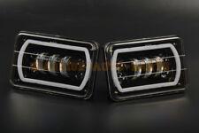 4x6 Inch LED Anti Flicker Headlight Square Bulb Hi/Low Sealed Beam DRL 2PCS AAA