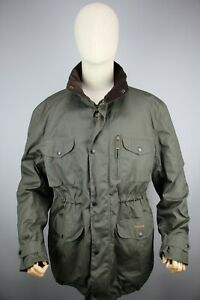 Barbour Sapper Waxed Genuine Green Mens Jacket  Size L