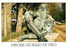Alte Postkarte - Amboise - Léonard de Vinci