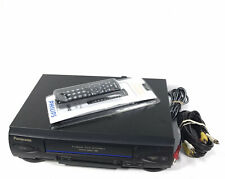 New listing Panasonic Omnivision Pv-v4522 Vhs Vcr Player/ Recorder with Remote Tested