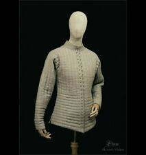 Medie 00006000 val Gambeson Costume Reenactment Theater Off White Color Nice Dress