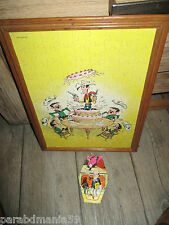 Vente lucky luke-Lot anciens puzzles(grand modele+puzzle publicitaire)1978