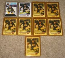 Ray Bourque Lot of 18 Hockey Cards 1980-95