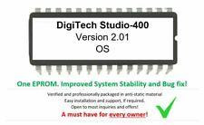 Digitech Studio-400 - Version. 2.01 Firmware Upgrade Update for Studio400 EFX