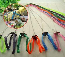 3.9ft Adjustable Multicolor Durable Soft Fashion Reptile Lizard Harness & Leash