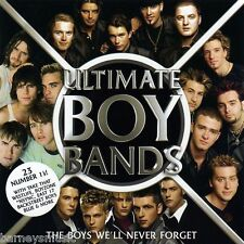 ULTIMATE BOY BANDS ( NEW SEALED 2  x  CD ) HANSON / BUSTED / NEW EDITION