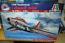 2703 F-84F Thunderstreak i diavoli rossi  ITALERI 1:48 plastic model kit