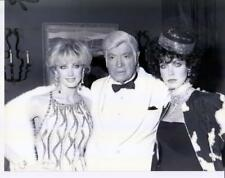 Bob Hope/Donna Mills/Morgan Fairchild 2-3-85 dated & captioned candid photo
