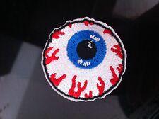 Mishka oculare logo Iron Sew su patch APPLIQUE skate snow board Beanie cap badge