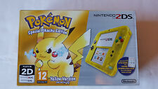 Nintendo 2DS Special Transparent Yellow + Pokemon Yellow (Limited Edition)