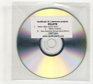 (IO675) Pilote, Nelson / Paul Aokenfold - DJ CD