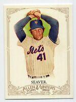 2012 Topps Allen & Ginter #163 TOM SEAVER New York Mets BASEBALL CARD HOF