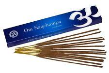 Om Nagchampa Nag Champa Premium Incense 15g Packet * Prayer & Pooja *