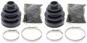 Complete Front Outer CV Boot Repair Kit for Yamaha YFM550 Grizzly EPS 2014