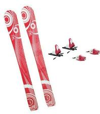 70CM YUKI LOOK ROSSIGNOL SKIS + BINDINGS PACKAGE DEAL KIDS CHILD GIRL YOUTH k2-7