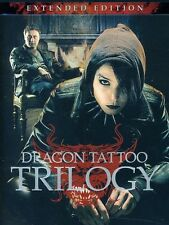 Girl With the Dragon Tattoo Trilogy [ DVD Region 1 WS/SWE LNG/ENG SUB/Extended E